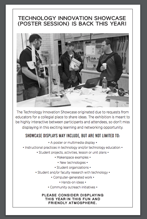 Technology Innovation Showcase - Poster Session